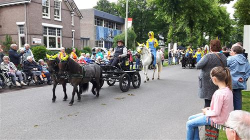 Intocht Eper Paardenvierdaagse
